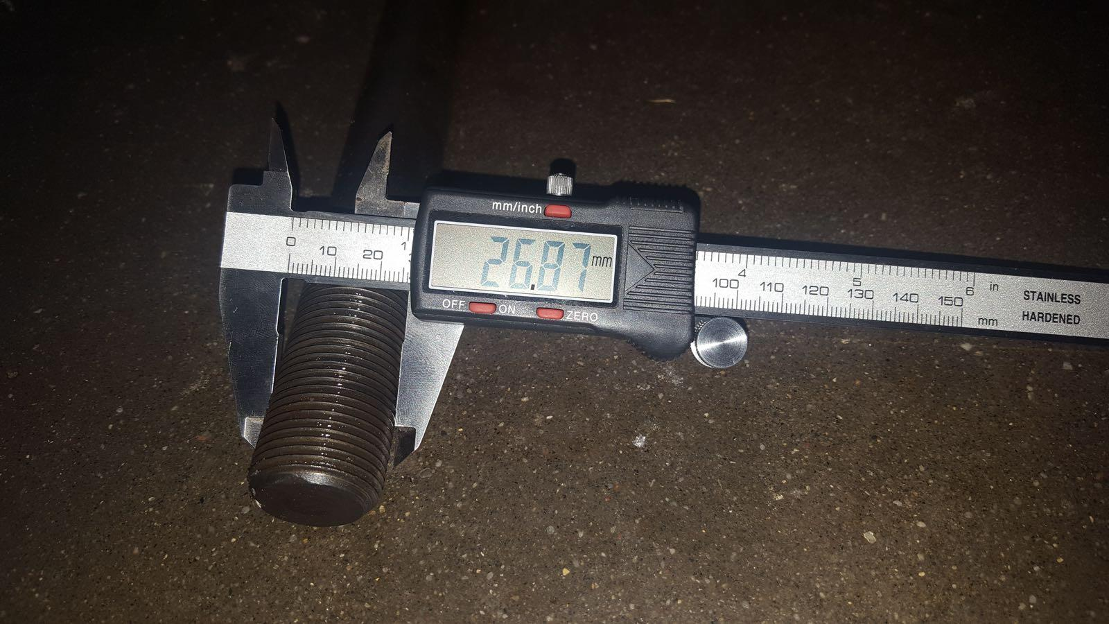 Picon Terex H1100 inlocuire set garnituri