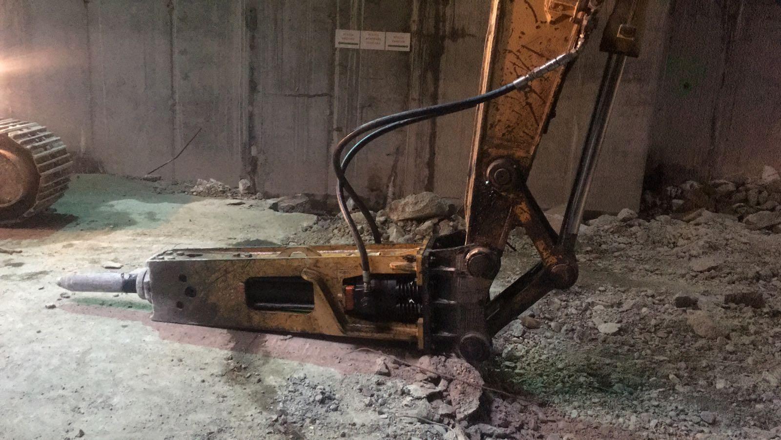 reparatie Montabert brh501